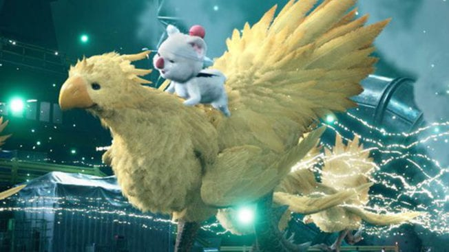 Final Fantasy 7 Remake Intergrade - Invoque Chocobo et Mog