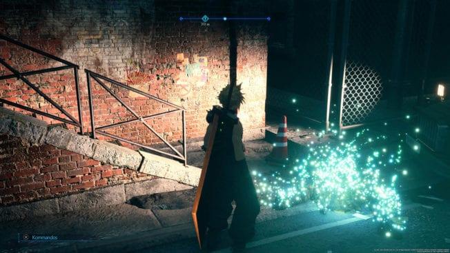 Environnement Final Fantasy 7 Remake Intergrade