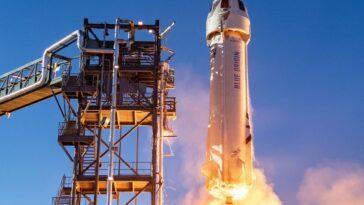 Le Premier Siège à L'espace Sur New Shepard De Blue
