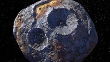Pas Tout Cela: L'astéroïde 16 Psyché N'est Peut être Pas Aussi