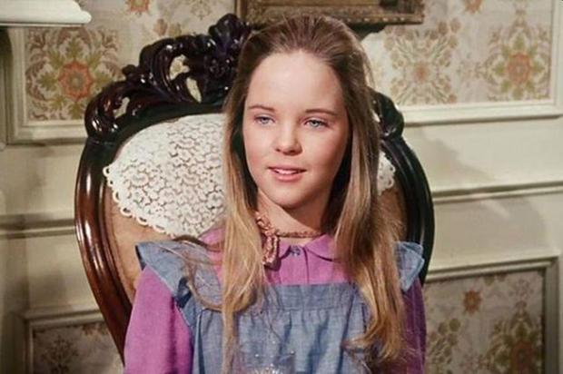 L'aînée des sœurs Ingalls, qui perd la vue.  (Photo: NBC)