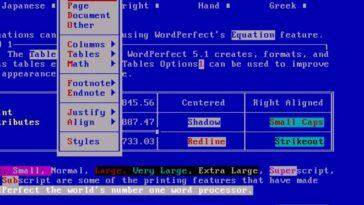 Comment WordPerfect a conquis le monde pour disparaître presque complètement et être sauvé de l'oubli