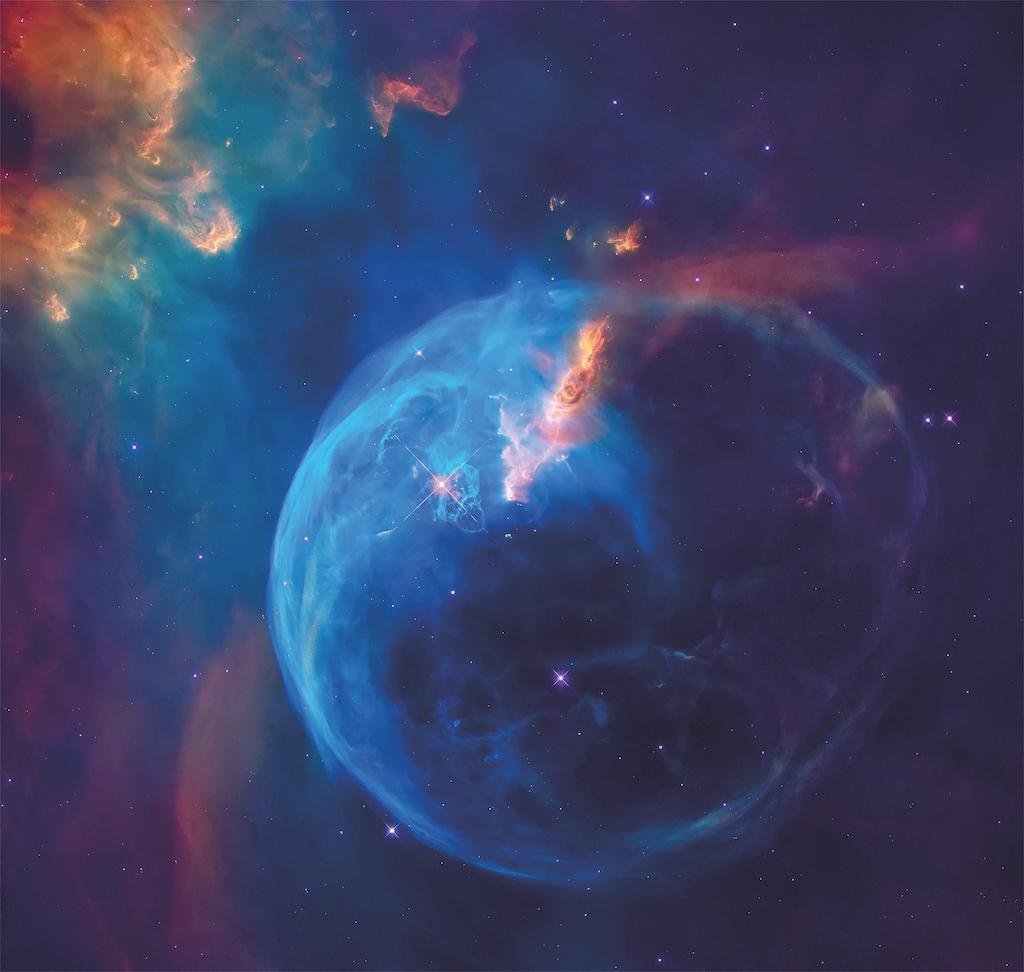 nébuleuse de la bulle