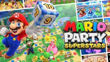 Nintendo Dans La Fièvre Des Fêtes : Mario Party Superstars