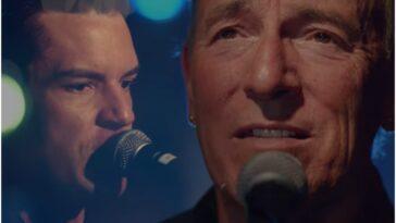 """Les Killers et Bruce Springsteen unissent leurs forces avec """"Dustland"""""""