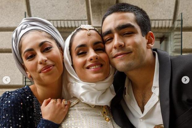 Les trois frères se sont réunis pour le mariage de Mai (Photo : Elite / Netflix)