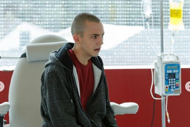 Alexis a décidé de ne pas continuer son traitement contre le cancer (Photo : Netflix)