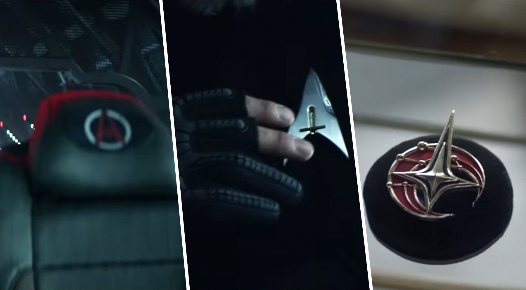 Le nouveau badge que Rios a et apparaît sur le siège de La Sirena, est-il le même logo que celui de Seven ?