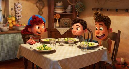 Scène Luca Pixar