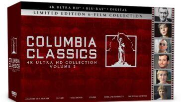 Collection Columbia Classics 4k Ultra Hd Volume 2
