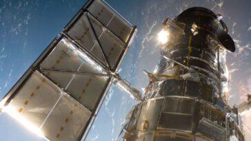 Le Télescope Spatial Hubble Mis à L'écart Par Un Problème