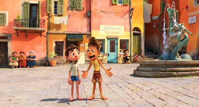 Luca sur Disney+ (Crédit: Disney+)