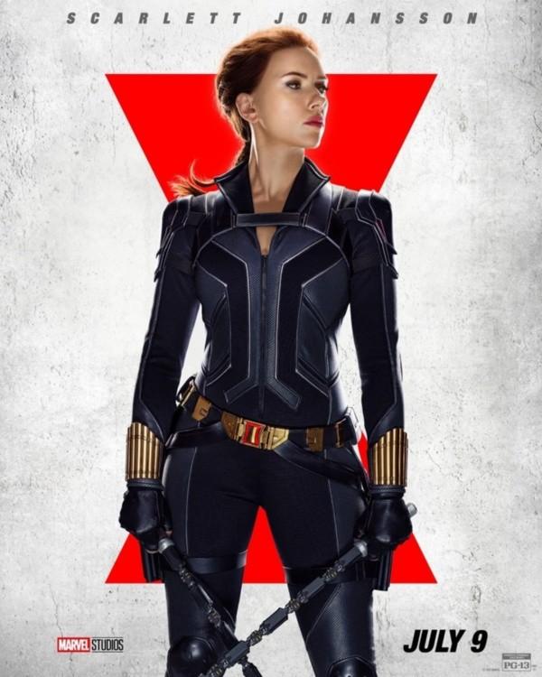 L'affiche officielle de Black Widow.  Photo : (Disney +)