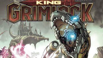 Le Roi Grimlock Règne Dans La Série De Bandes Dessinées