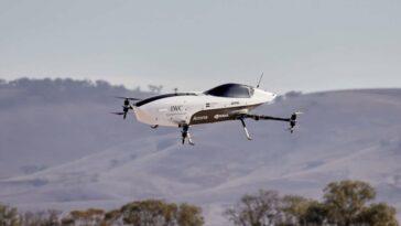 Airspeeder, considérée comme la première voiture de course volante, effectue son premier vol