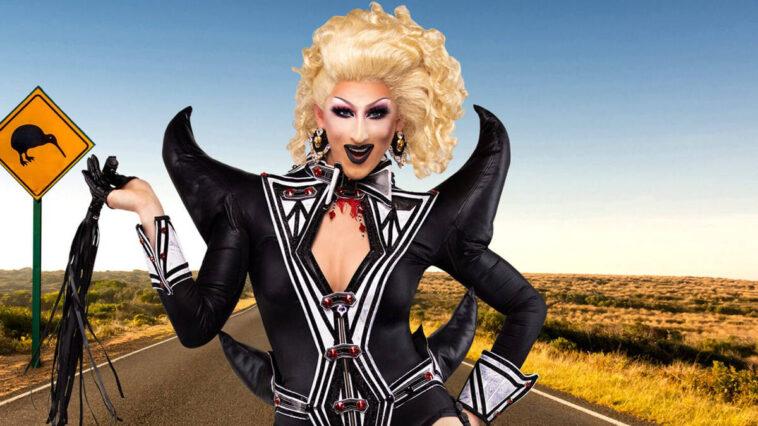 Anita Wigl'it De Drag Race Down Under Couronnée Miss Congeniality