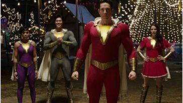 """Nouveaux costumes héroïques révélés dans """"Shazam: Fury of the Gods"""""""