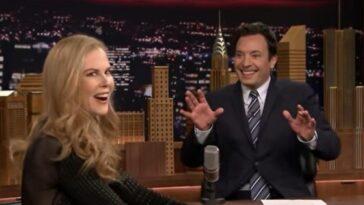 Nicole Kidman et Jimmy Fallon auraient pu sortir ensemble, mais il ne s'en est pas rendu compte