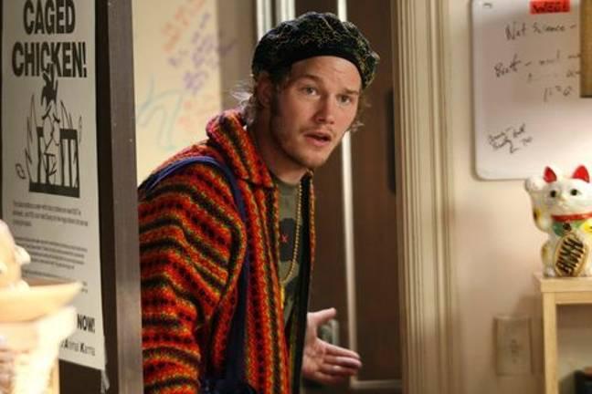 Chris Pratt a joué un premier rôle dans The OC en 2006. Crédit: Fox