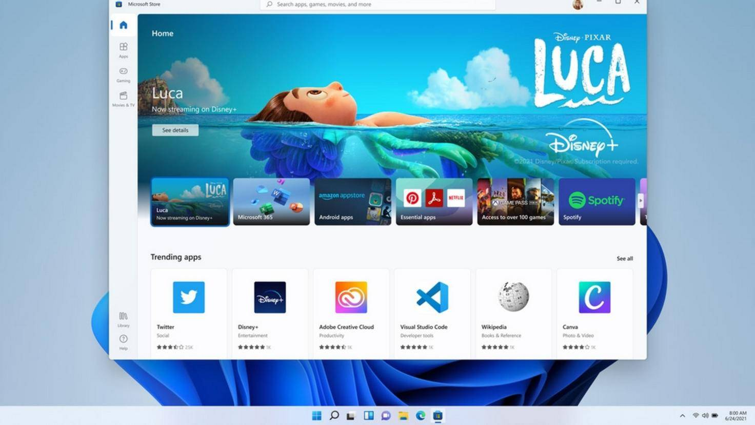 Magasin Windows 11