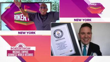 Al Roker et plus de 50 prévisionnistes viennent d'établir un tout nouveau titre Guinness World Records !