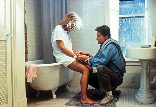 Glenn Close et Michel Douglas.  Photo: (IMDB)