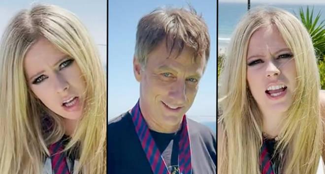 Avril Lavigne rejoint TikTok avec la vidéo emblématique de Tony Hawk Sk8er Boi