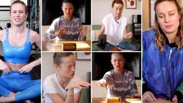 Brie Larson Partage Les Bloopers De Sa Chaîne Youtube