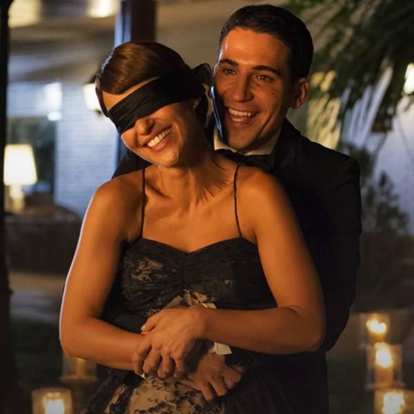 Alberto et Ana en velours.  Photo: (Antenne 3)