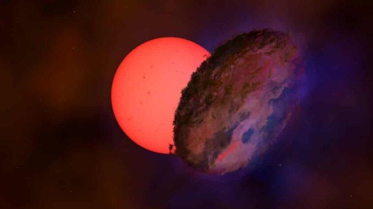 """Cette étoile au centre de la Voie lactée """"s'allume et s'éteint"""" tous les 200 jours."""