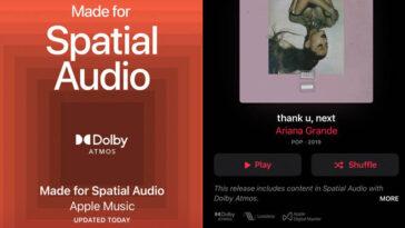 Comment Obtenir Spatial Audio Sur Apple Music