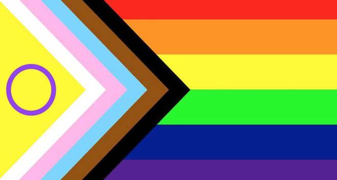 Le drapeau de la fierté a été repensé pour inclure la communauté intersexe