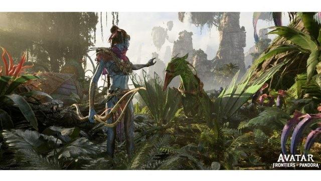 Capture d'écran d'Avatar : Frontiers of Pandora présentée à l'E3 2021. AFP