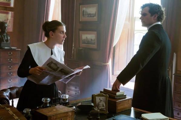Henry Cavill a travaillé aux côtés de Millie Bobby Brown.  Photo: (Netflix)