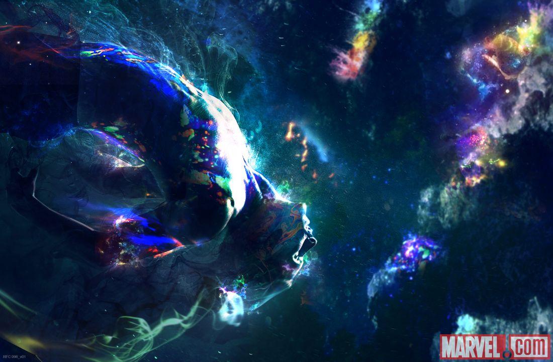 Le protagoniste de Marvel's Doctor Strange (2016) a le pouvoir de sauter dans différentes dimensions.