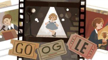 Google Rend Hommage à Shirley Temple, La Star Emblématique De