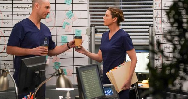Cormac et Meredith ont une histoire similaire (Photo : Grey's Anatomy / ABC)