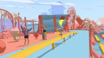 Hands On: la nouvelle identité frappante d'OlliOlli World colle l'atterrissage sur PS5, PS4