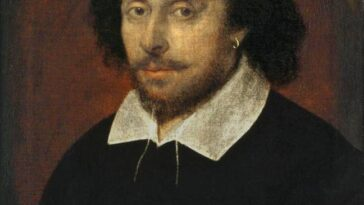 William Shakespeare.  Crédit : domaine public