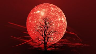 Influence De La Lune Et De Quatre éléments Sur Nous