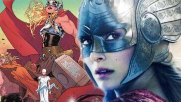 Jane Foster Révélée Comme Le Mighty Thor Dans Love And