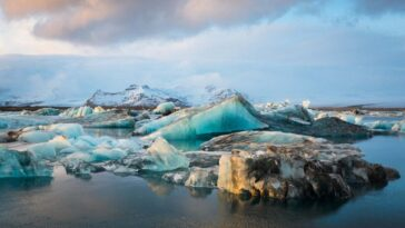 L'islande A Perdu 750 Km2 De Glaciers Au Cours Des
