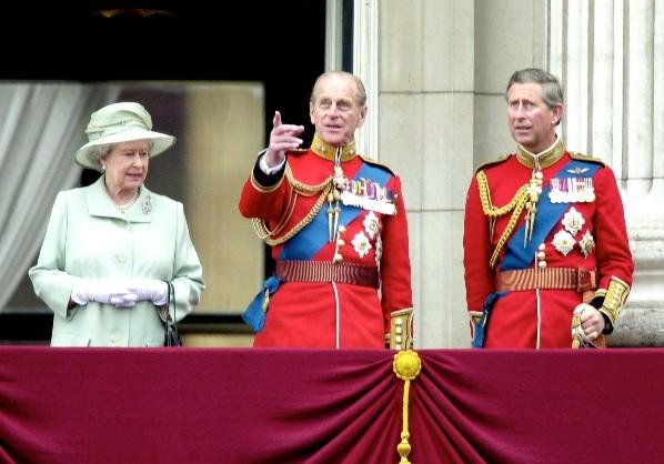 Carlos, Felipe et Isabel II étaient les plus ennuyeux de la série.  Photo: (Getty)