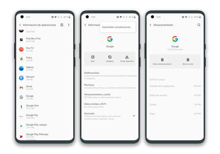Solution d'application Google