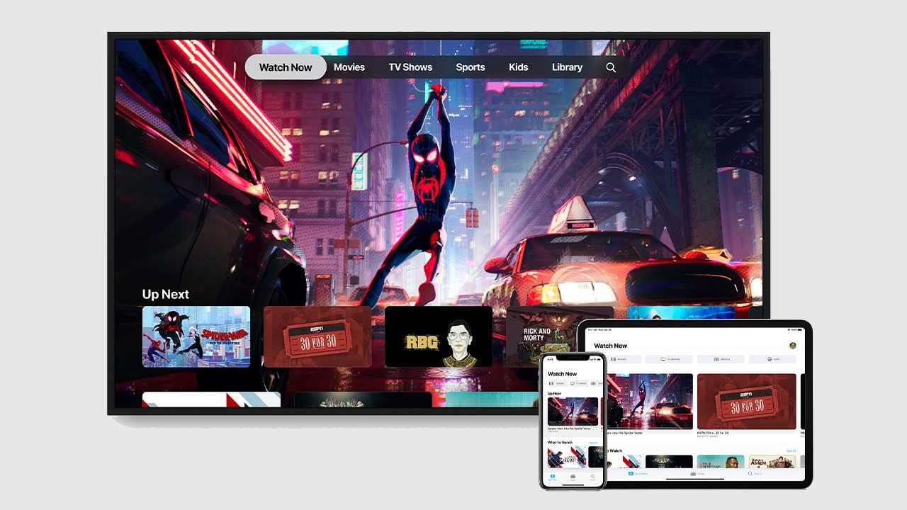 L'application Apple TV