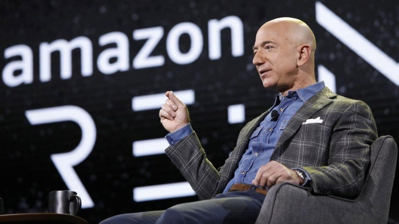 Le fondateur d'Amazon Jeff Bezos.  Image : AP