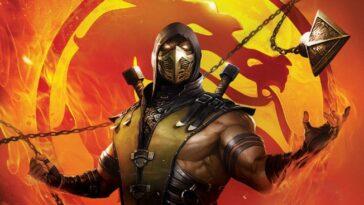 Le Film Mortal Kombat Legends Avec Johnny Cage Et Sonya