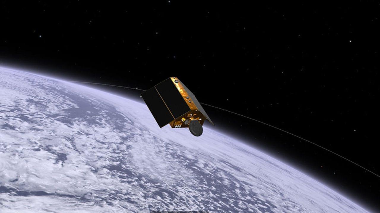 Le satellite Sentinel-6 Michael Freilich a été lancé depuis la base aérienne de Vandenberg, dans le centre de la Californie, le 21 novembre. Les outils de visualisation Eyes de la NASA vous permettent de suivre le vaisseau spatial au début de sa mission de mesure de la hauteur du niveau de la mer en orbite autour de la Terre.  Crédits : NASA/JPL-Caltech