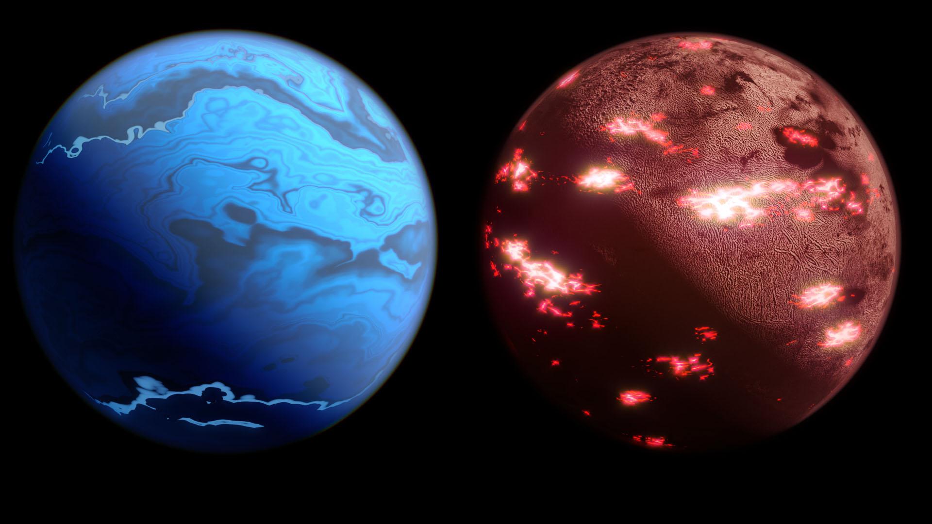 Les Neptunes chaudes et les super Terres font partie des types étranges de planètes connues pour exister dans d'autres systèmes solaires.