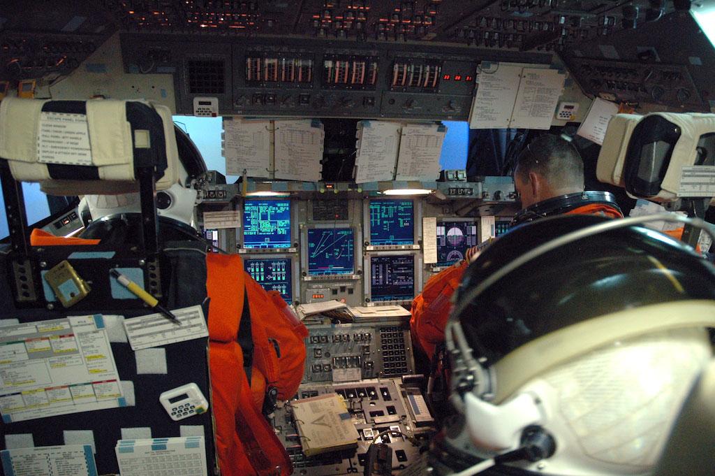 Le simulateur de base de mouvement a été utilisé par les 135 équipages de navette spatiale pour s'entraîner à leurs missions entre 1981 et 2011.